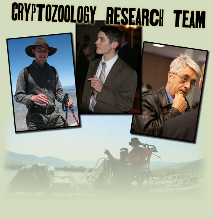 Cryptozoology Research Team Photos