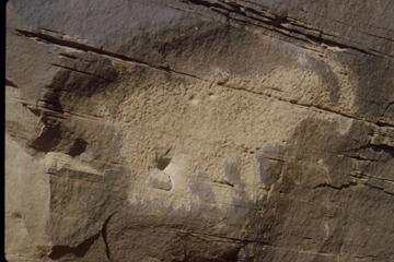 Anasazi mammoth petroglyph